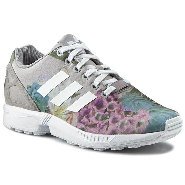 66cf3c5fa Shoes adidas - Zx Flux W AQ3067 Mgsogr Ftwwht Luspnk - Sneakers ...
