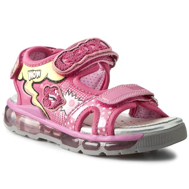 Sandals GEOX - J S Android G. A J620PA 0HH15 C8002 Fuchsia