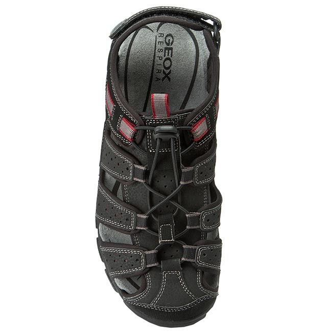 Sandals GEOX - U S Strada B U6224B 00050 C9999 Black - Sandals - Mules and  sandals - Men s shoes - www.efootwear.eu fcc346660b6