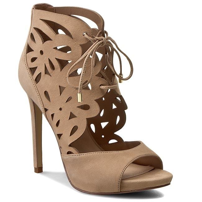 5cead8c18e596 Sandals GUESS - Anny FLANN2 LEA03 BEIGE - Elegant sandals - Sandals ...