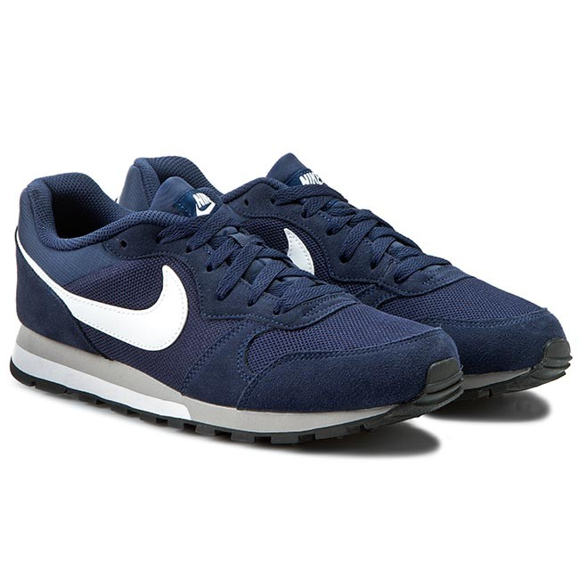 Shoes NIKE - Md Runner 2 749794 410 Midnight Navy White Wolf Grey ... 9f65a1dbdf5d2
