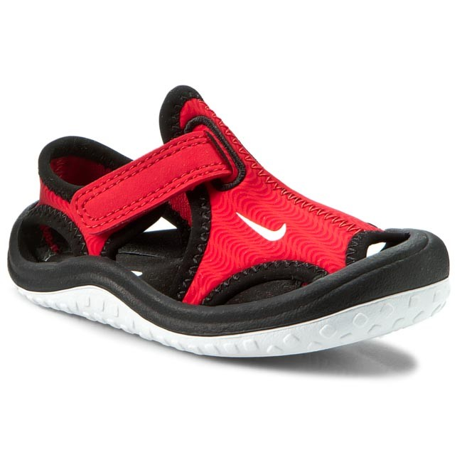 Sandals NIKE - Sunray Protect (Td) 344925 602 University Red/White/Black