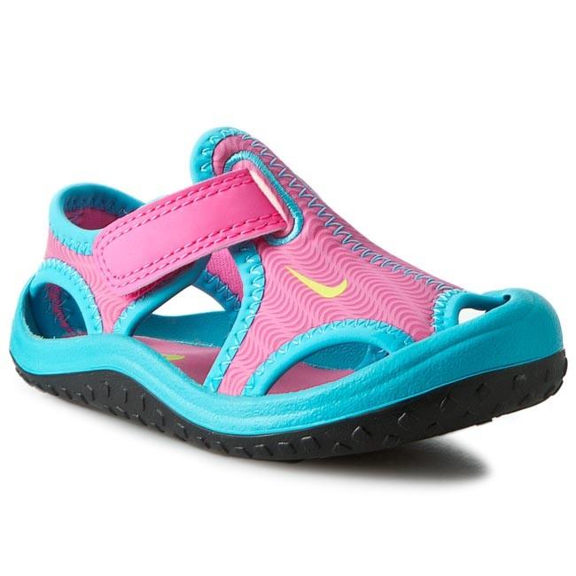 eb9fdd081e5c Sandals NIKE - Sunray Protect (Td) 344993 Pink Blast Ghst Grn Gmm ...