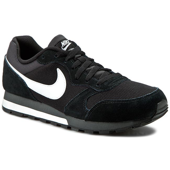 Men's Nike Md Runner 2 Fashion Sneakers Black/White/Anthracite F20e6747