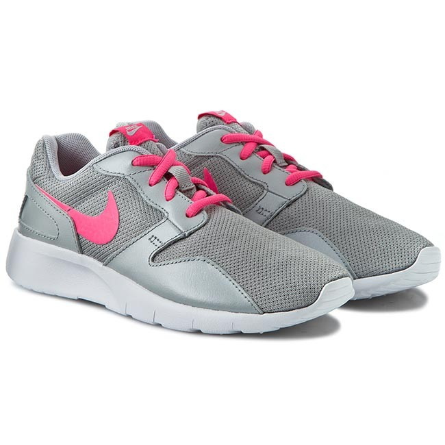 finest selection f8030 be572 Shoes NIKE - Kaishi (Gs) 705492 006 Wolf Grey Hyper Pink White - Laced shoes  - Low shoes - Girl - Kids  shoes - www.efootwear.eu