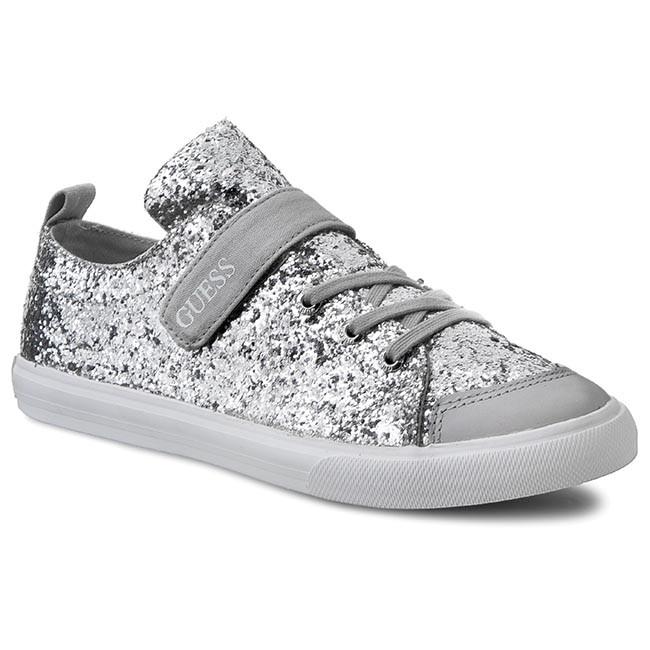Sneakers Guess - Fljle3 Fam12 Silve draJWUXVcS