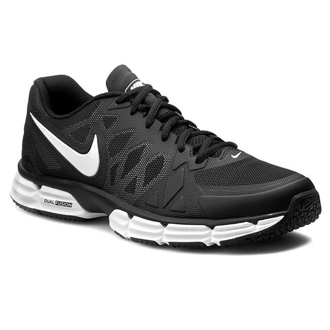 2e822ecd8ac1 Shoes NIKE - Dual Fusion TR 6 704889 001 Black White Mtllc Silv Pr ...