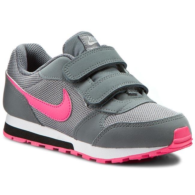 Cheap Price Girls Nike MD Runner 2 Psv Black Grey