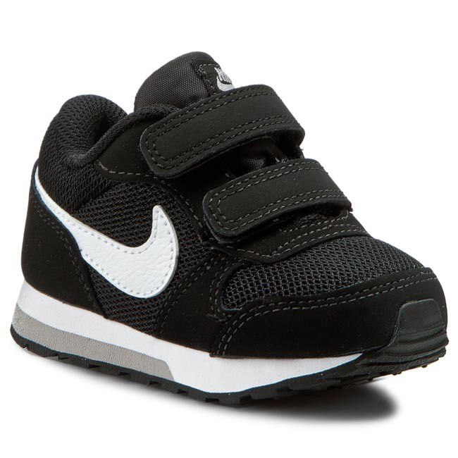 e2c718acf1b Shoes NIKE - Md Runner 2 (TDV) 806255 001 Black White Wolf Grey ...