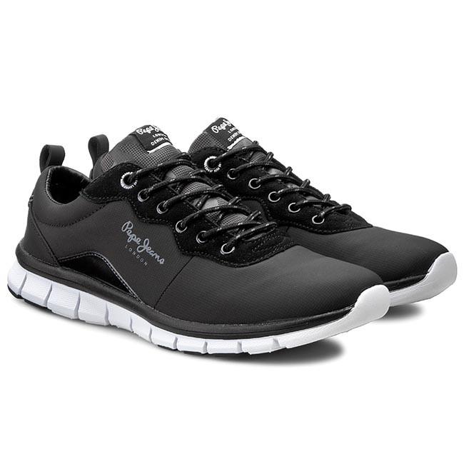 Sneakers PEPE JEANS - Coven Nylon Men PMS30193 Black 999