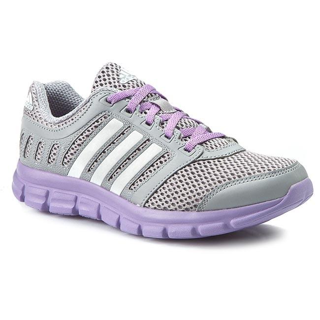 Scarpe adidas brezza 101 2 w af5343 grey in scarpe da corsa