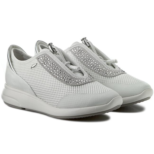 Sneakers GEOX D Ophira E D621CE 01402 C1209 Off WhiteWhite