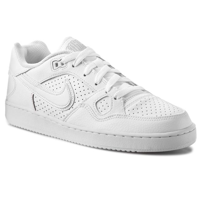 Shoes NIKE - Son Of Force 616775 101 White Black - Casual - Low ... cf9c50964