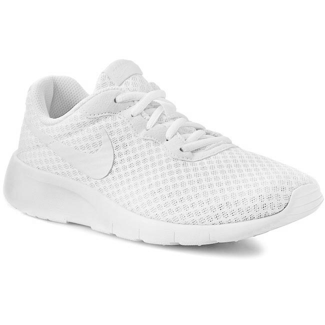 Shoes NIKE - Tanjun (GS) 818384 111 White White - Laced shoes - Low ... e2bf6a0bef7