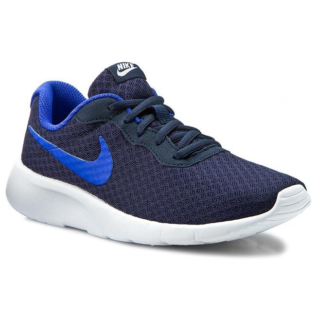 shoes nike tanjun (gs) 818381 441 obsidian racer blue white