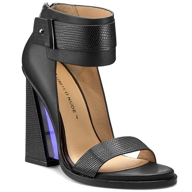 c44c168571c2 Sandals UNITED NUDE - Lula Sandal 101100127 Black - Casual sandals ...