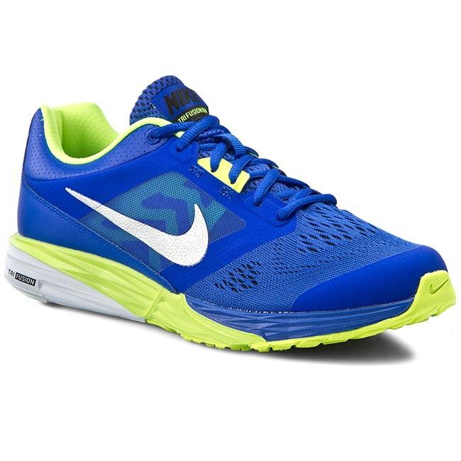 2f4e7223e1b Shoes NIKE - Tri Fusion Run 749170 403 Racer Blue Mtllc Slvr Blk Vlt ...