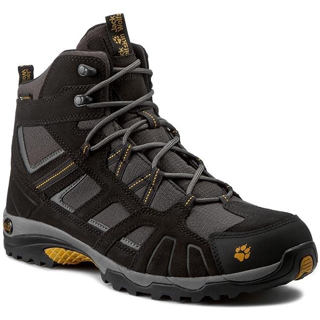 Trekker Boots JACK WOLFSKIN - Vojo Hike Mid Texapore Men 4011361 Burly  Yellow