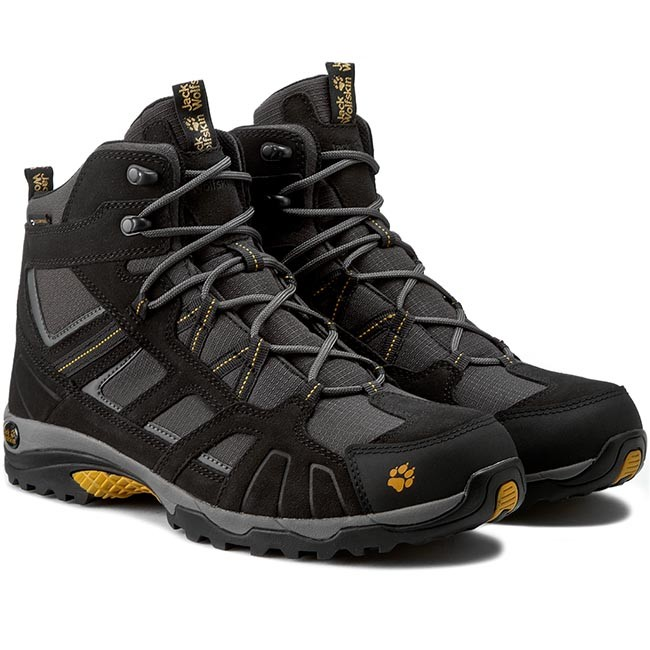 62502ad05e3 Trekker Boots JACK WOLFSKIN - Vojo Hike Mid Texapore Men 4011361 Burly  Yellow
