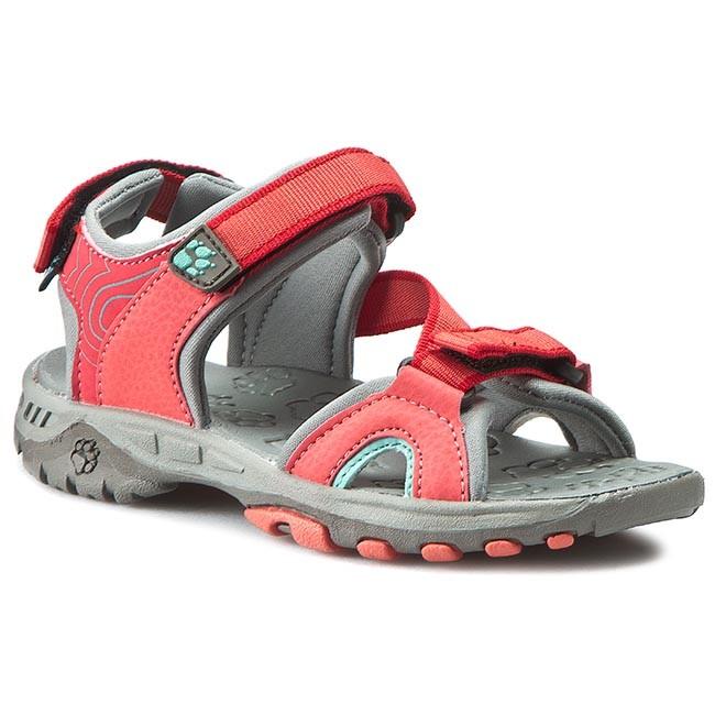 Sandals JACK WOLFSKIN - Lakewood Ride 4019101-2260290 Hibiskus Red