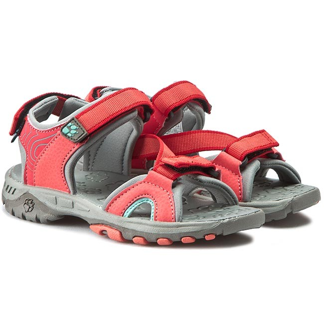 Sandals JACK WOLFSKIN Lakewood Ride 4019101 2260290 Hibiskus Red