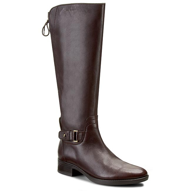 Knee High Boots GEOX - D Felicity A D54G1A 00043 C6009 Coffee ... acd845da687