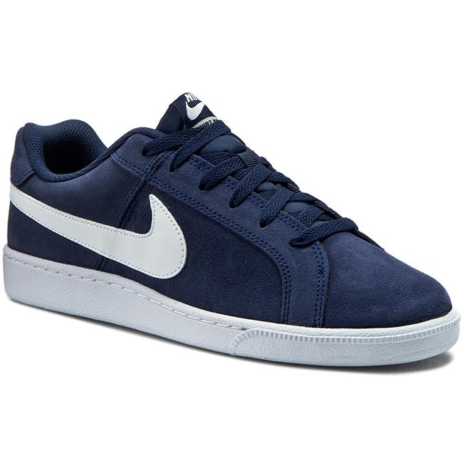 Shoes NIKE  Court Royale Suede 819802 410 Midnight NavyWhite