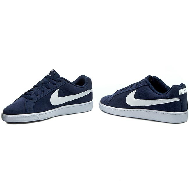more photos dbe54 fb71b Shoes NIKE - Court Royale Suede 819802 410 Midnight Navy White