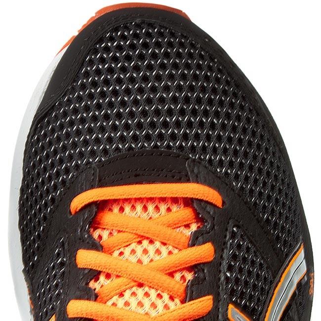 Shoes ASICS Gel Phoenix 7 T5M0N BlackSilverHot Orange 9093