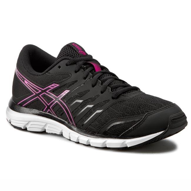 Shoes ASICS - Gel-Zaraca 4 T5K8N Black Onyx Pink Glow 9099 - Indoor ... 0ae8ab0ba8
