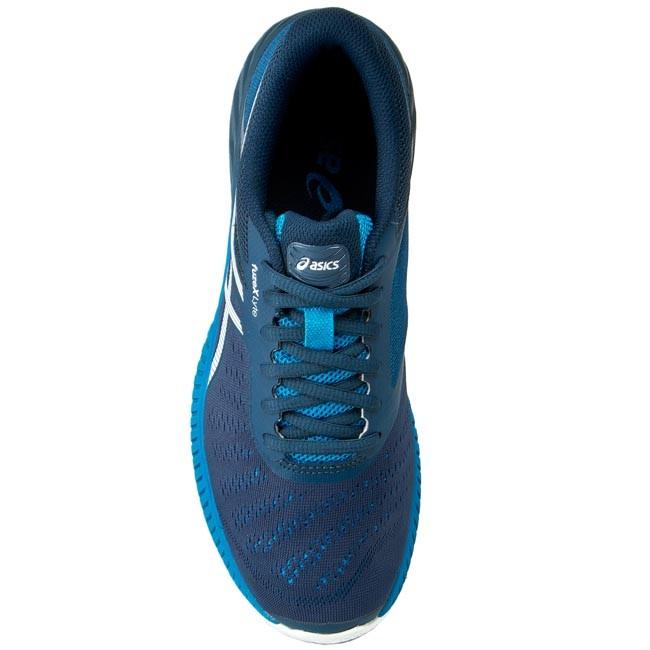 Shoes ASICS FuzeX Lyte T620N InkWhiteMethyl Blue 5101