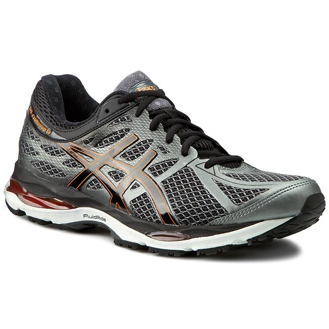 Chaussures ASICS 17 Perle Gel Chaussures Cumulus 17 T5D3N Perle Fumée/ Noir/ Flash Orange 6211a38 - trumpfacts.website