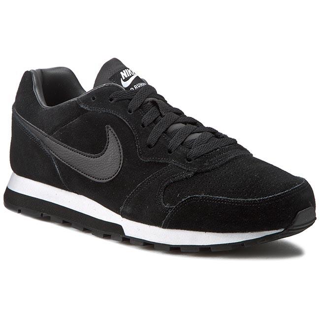 Nike MD Runner 2 Leather Black-White Men