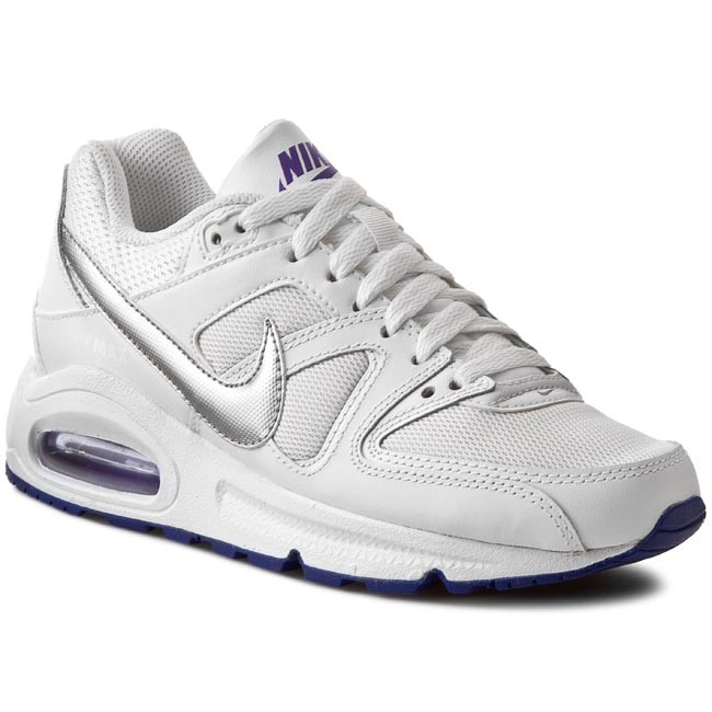 Nike Men Air Max Command - White/Metallic Silver