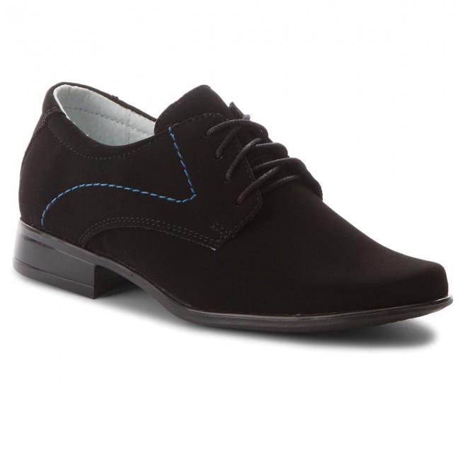 Zapatos MIDO - 406 Czarno/Niebieski wLs0uxYc
