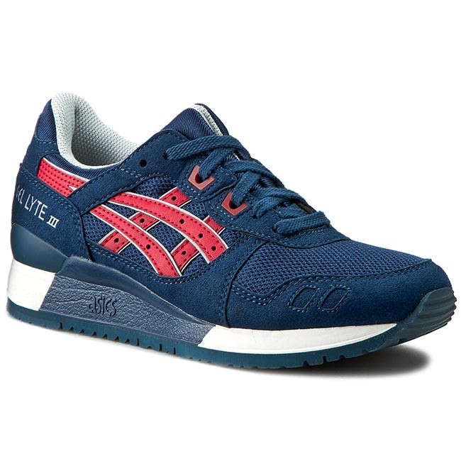 Shoes ASICS TIGER Gel Lyte III H6B1Y Indian InkTango Red 5025