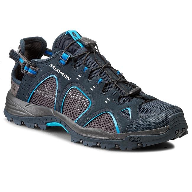 Trekker Boots SALOMON - Techamphibian 3 356783 28 M0 Deep Blue/Autobahn/Fluo  Blue