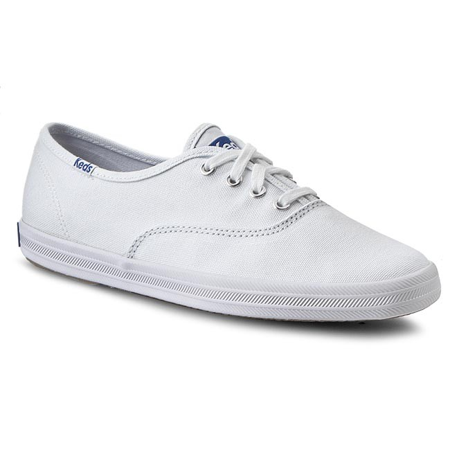 1ea198d01910bb Plimsolls KEDS - Champion WF34000 White Canvas - Flats - Low shoes ...