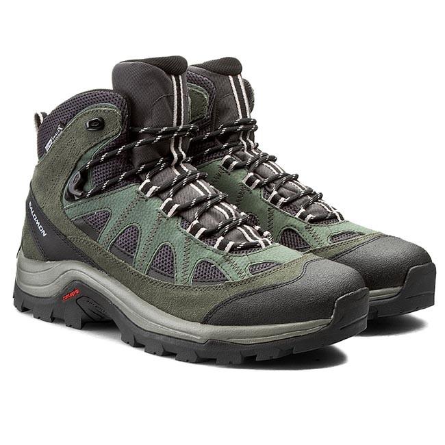 Boots Trekker Ltr Salomon 379491 Asphalt Authentic 28 Wp Cs V0 qxOdCwg