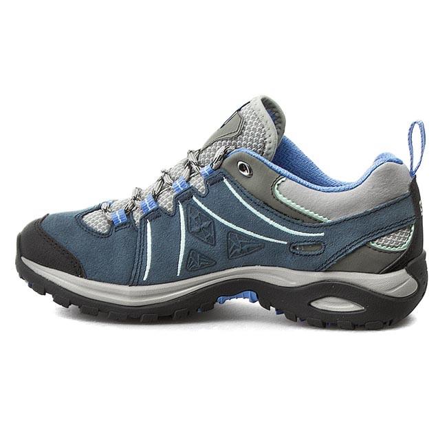 Trekker Boots SALOMON Ellipse 2 Ltr W 379199 TitaniumDeep BluePetunia Blue