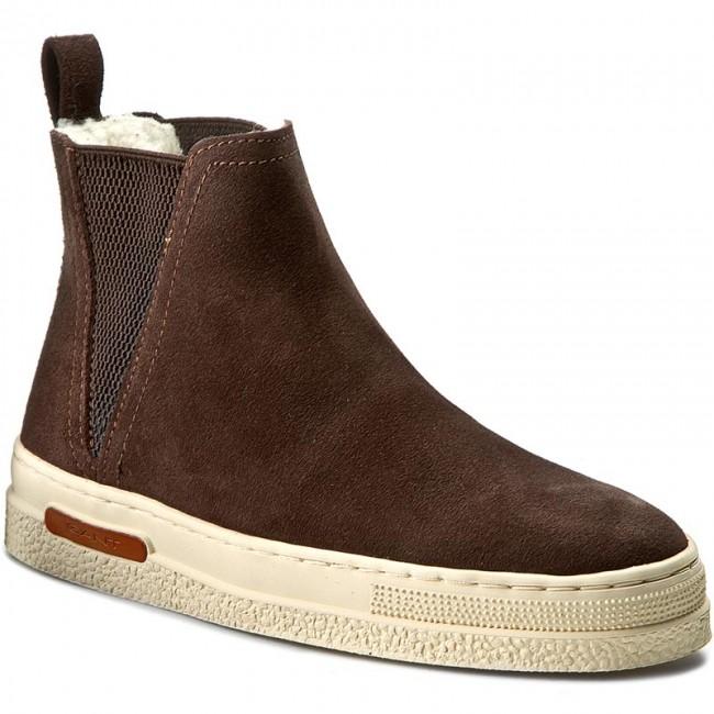 0d1db044da Ankle Boots GANT - Maria 13543323 Dark Brown G46 - Elastic-sides ...