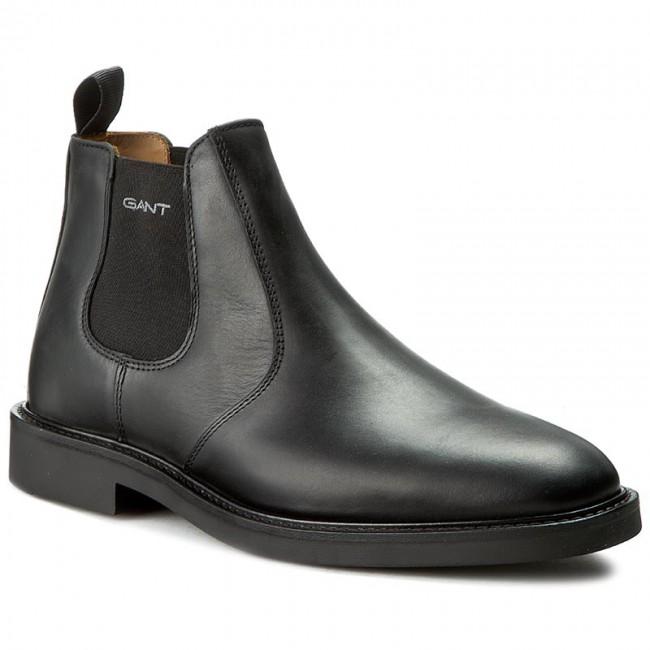 53abb7b714 Ankle Boots GANT - Spencer 13651417 Black G00 - Chelsea boots - High ...