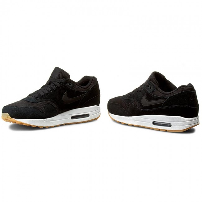 timeless design 257bf 673ed Shoes NIKE - Air Max 1 Essential 537383 024 Black Black-White-Gum