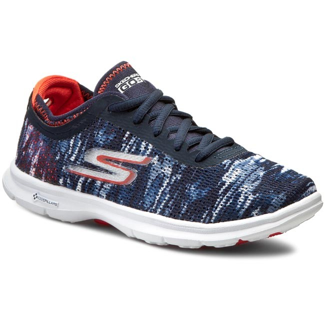 Shoes SKECHERS - - Go Step 14200/NVCL Navy/Coral - SKECHERS Fitness - Sports shoes - Women's shoes c9784e