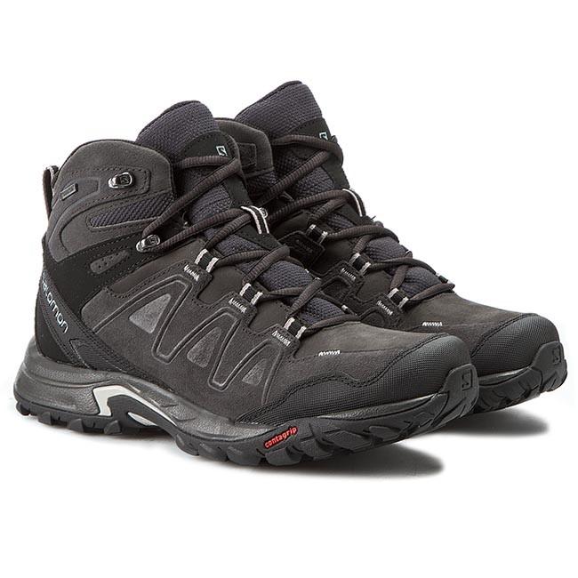 Trekker Boots SALOMON Eskape Mid Ltr Gtx 373287 27 V0 AsphaltAsphaltAluminium 0cltZ