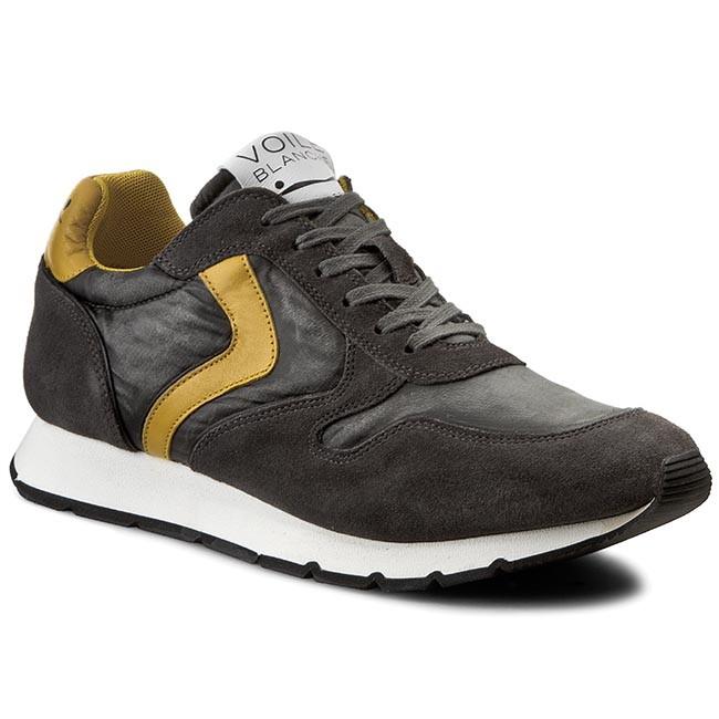 Sneakers VOILE BLANCHE - Liam 0012009984.03.9125 Antracite Giallo ... fffb42ee72e