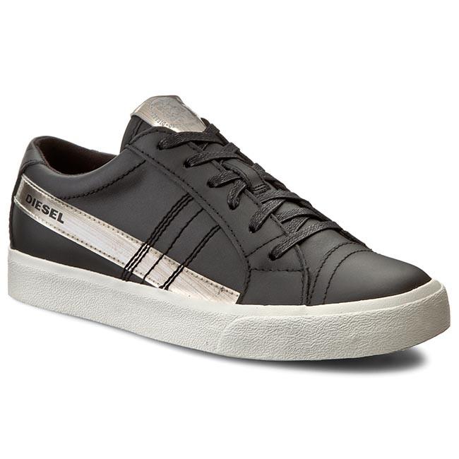 D-STRING LOW - Sneaker low - black Xj1KM