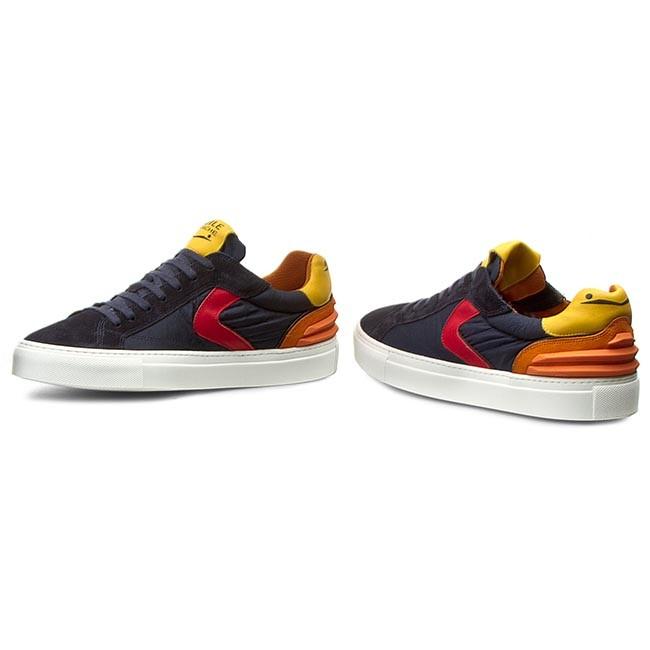 Sneakers VOILE BLANCHE Portofino Power 0012010119.03.9123 BleuArancio