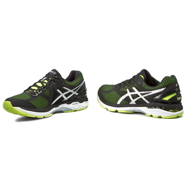 Shoes ASICS - Gt-2000 4 T606N Flash Yellow Black Silver 0790 ... bec68586cf