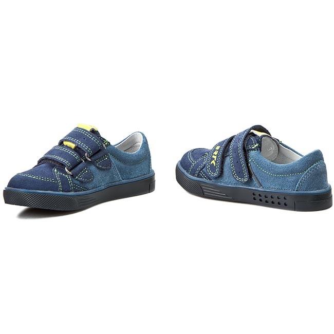 Shoes BARTEK - 85515-1E6 - Blue - Velcro - Low shoes - Boy - 85515-1E6 Kids' shoes 4c362b